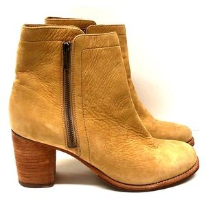 Frye Addie double zipper boots